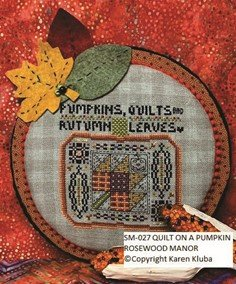 Quilts on a Pumpkin chart - Rosewood Manor
