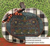 Toads on a Pumpkin chart - Rosewood Manor