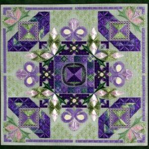 Royal Garden chart - DebBee's Designs