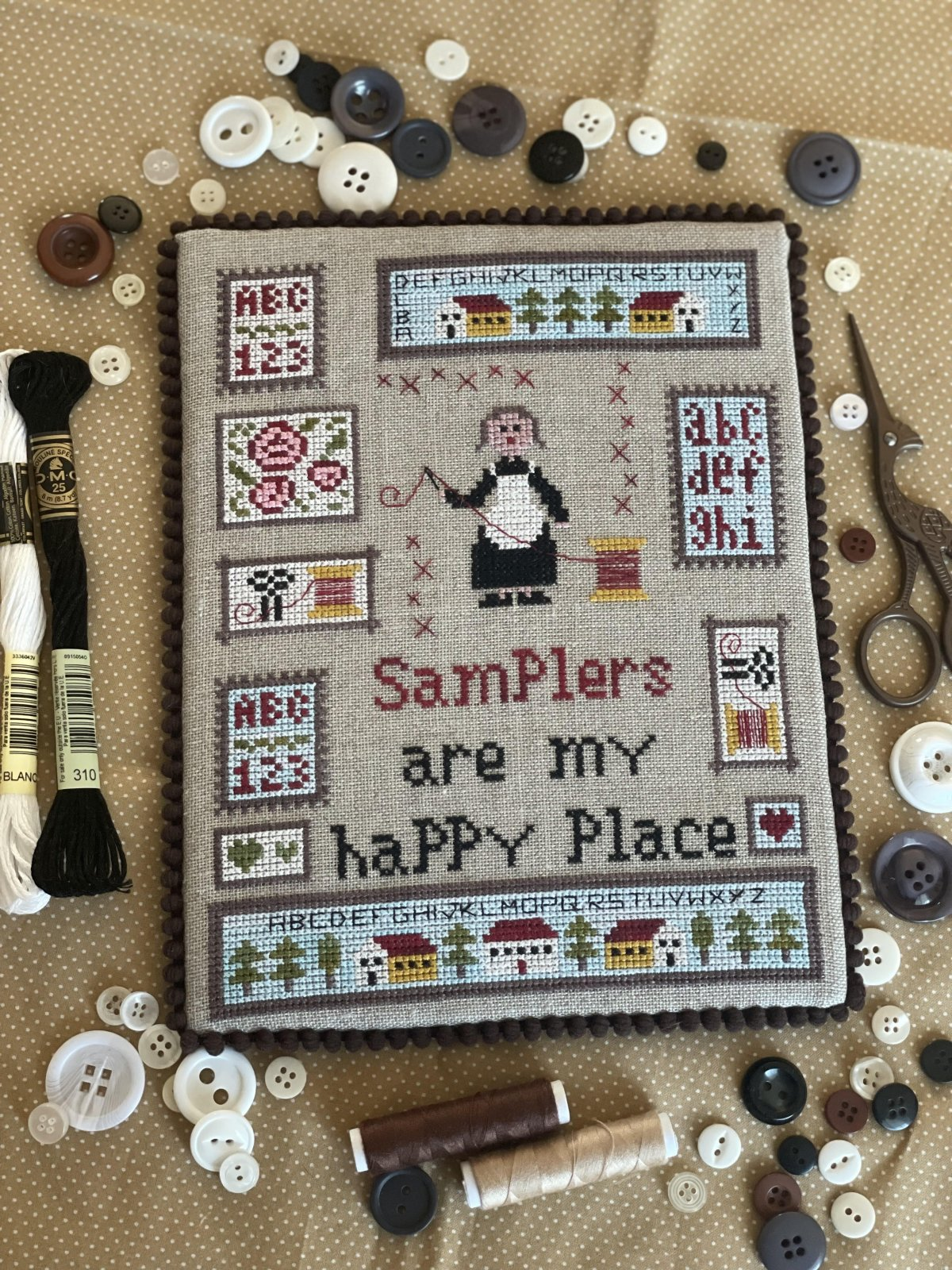 Thread pack for Samplers are my Happy Place - Romy's Creations