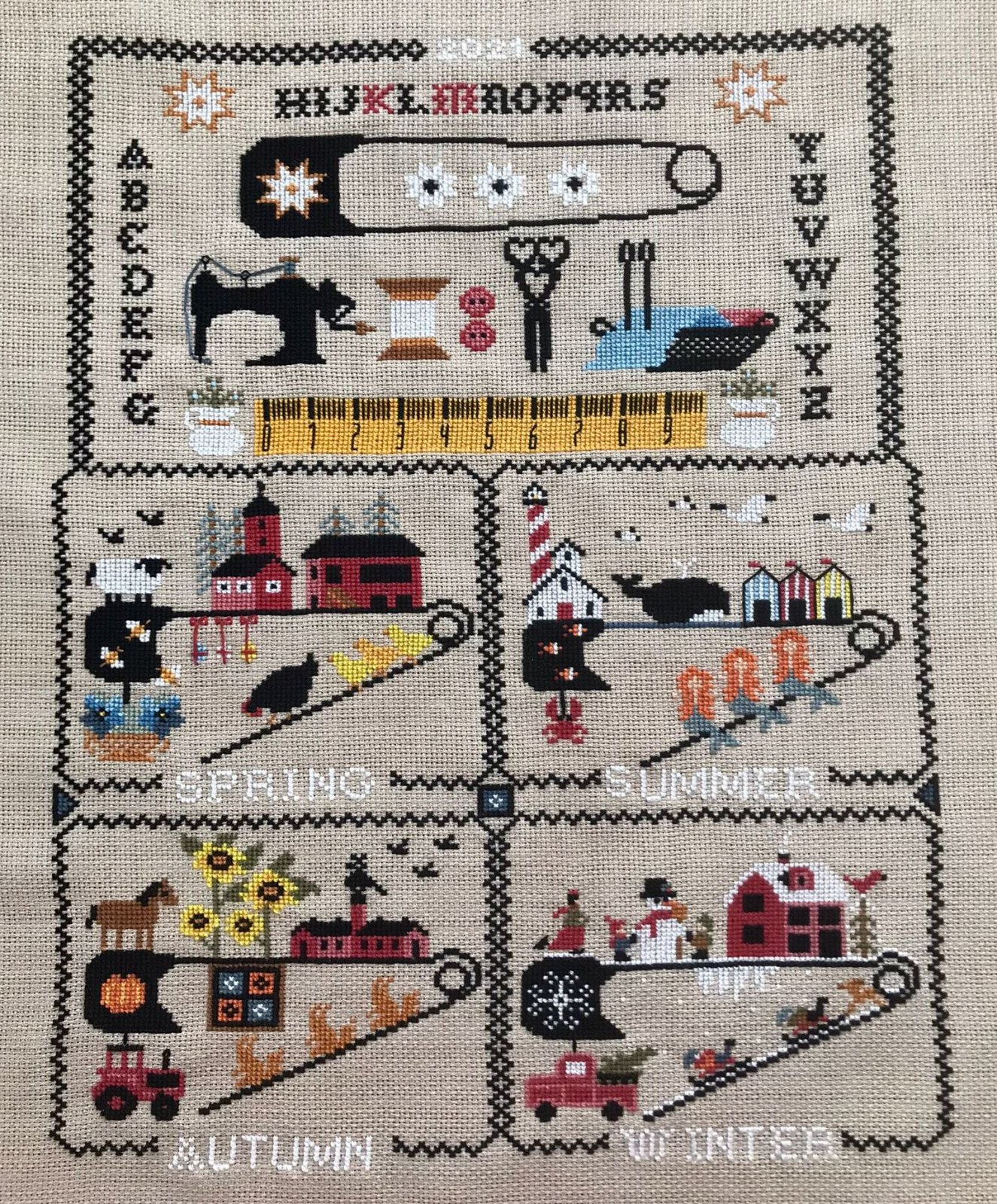 Seasons of the Safety Pin chart - Twin Peak Primitives