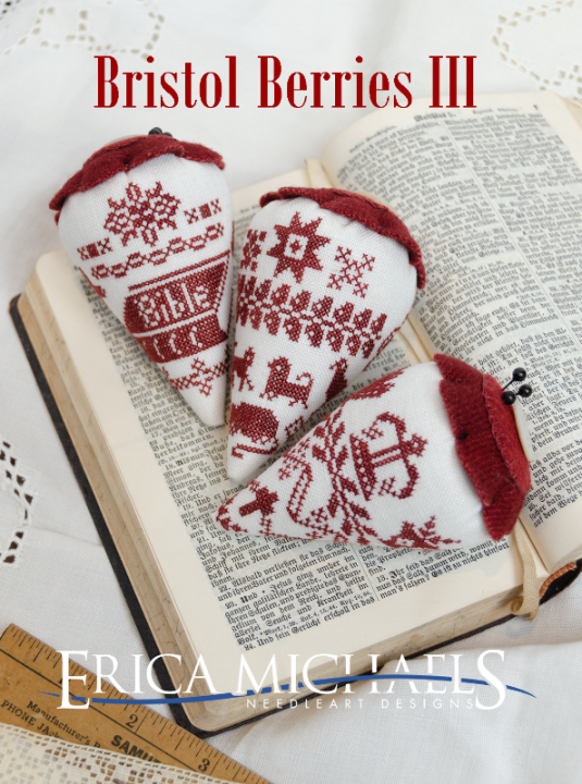 Bristol Berries III chart - Erica Michaels