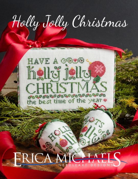 Holly Jolly Christmas chart - Erica Michaels