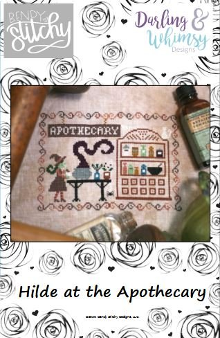 Hilde at the Apothecary chart - Bendy Stitchy