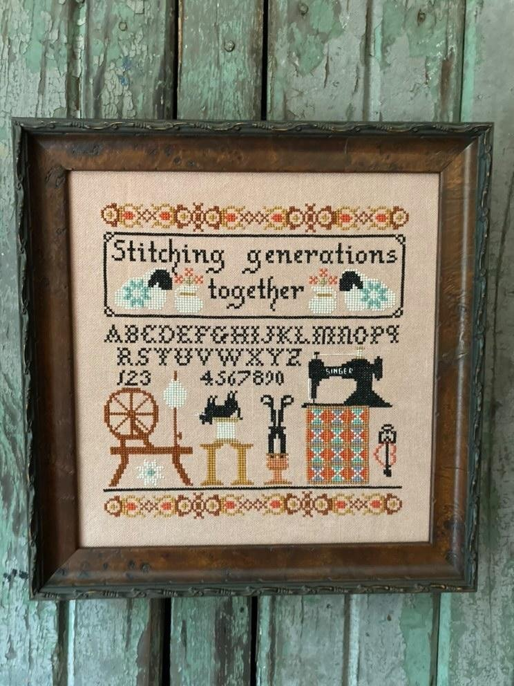 Stitching Generations Together chart - Twin Peak Primitives