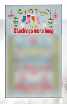 Stocking Were Hung Pt 1 chart - Tiny Modernist