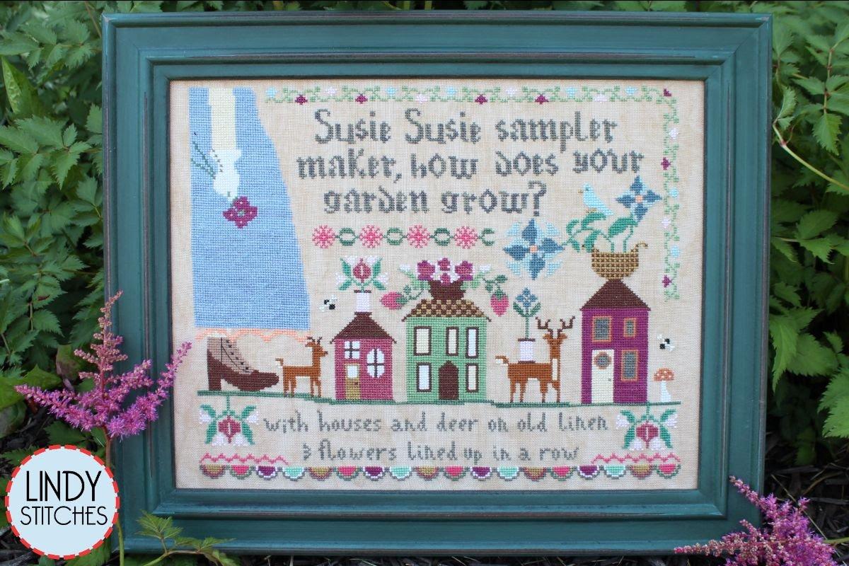 Susie Susie Samplermaker chart - Lindy Stitches