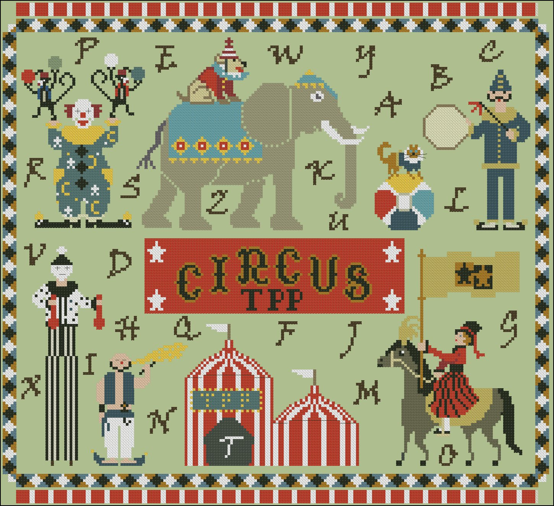 TPP Circus chart - Twin Peak Primitives