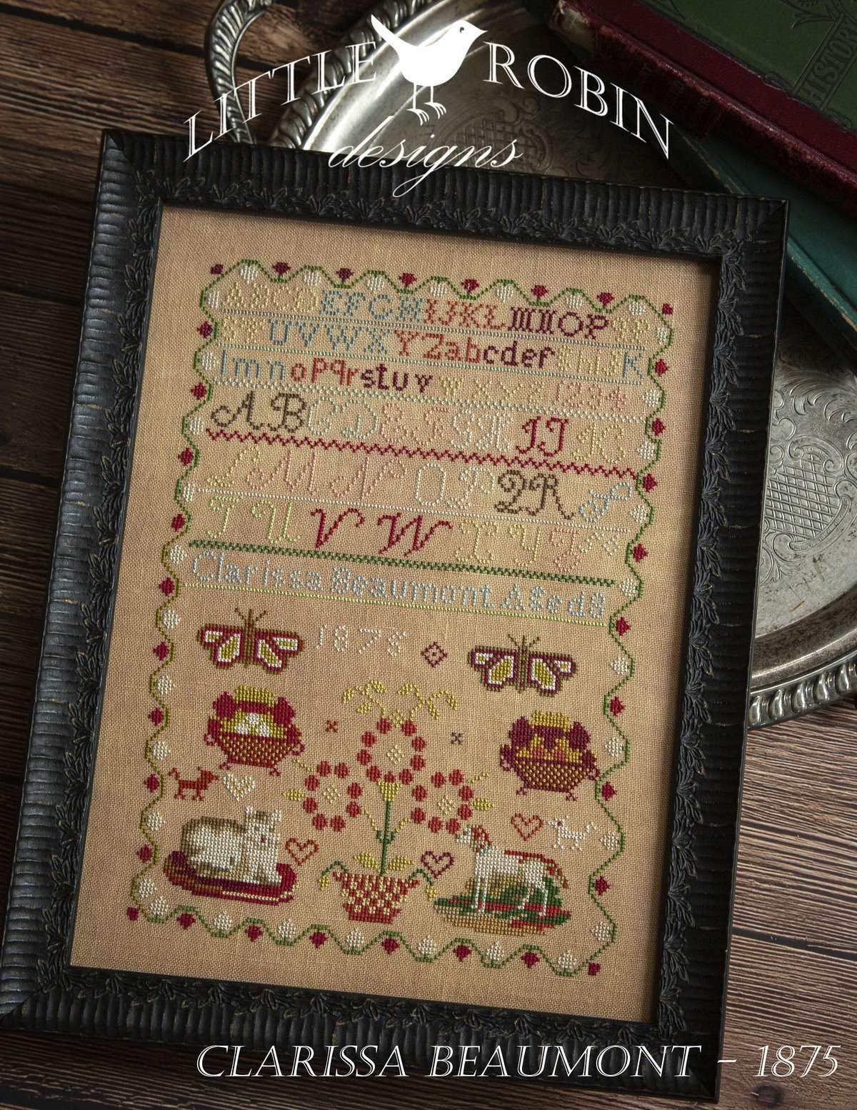 Clarissa Beaumont chart - Little Robin Designs