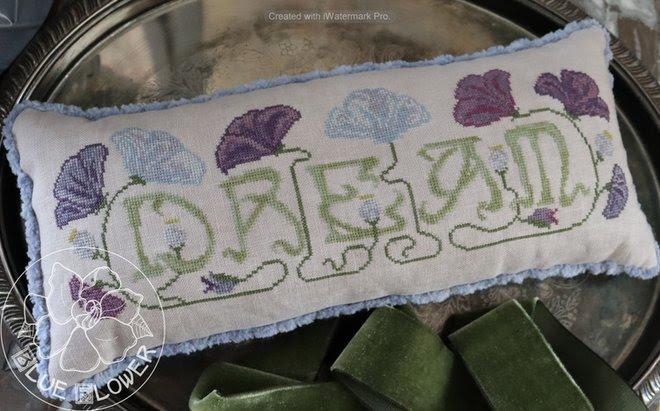 Language of Flowers: Dream chart - Blue Flower