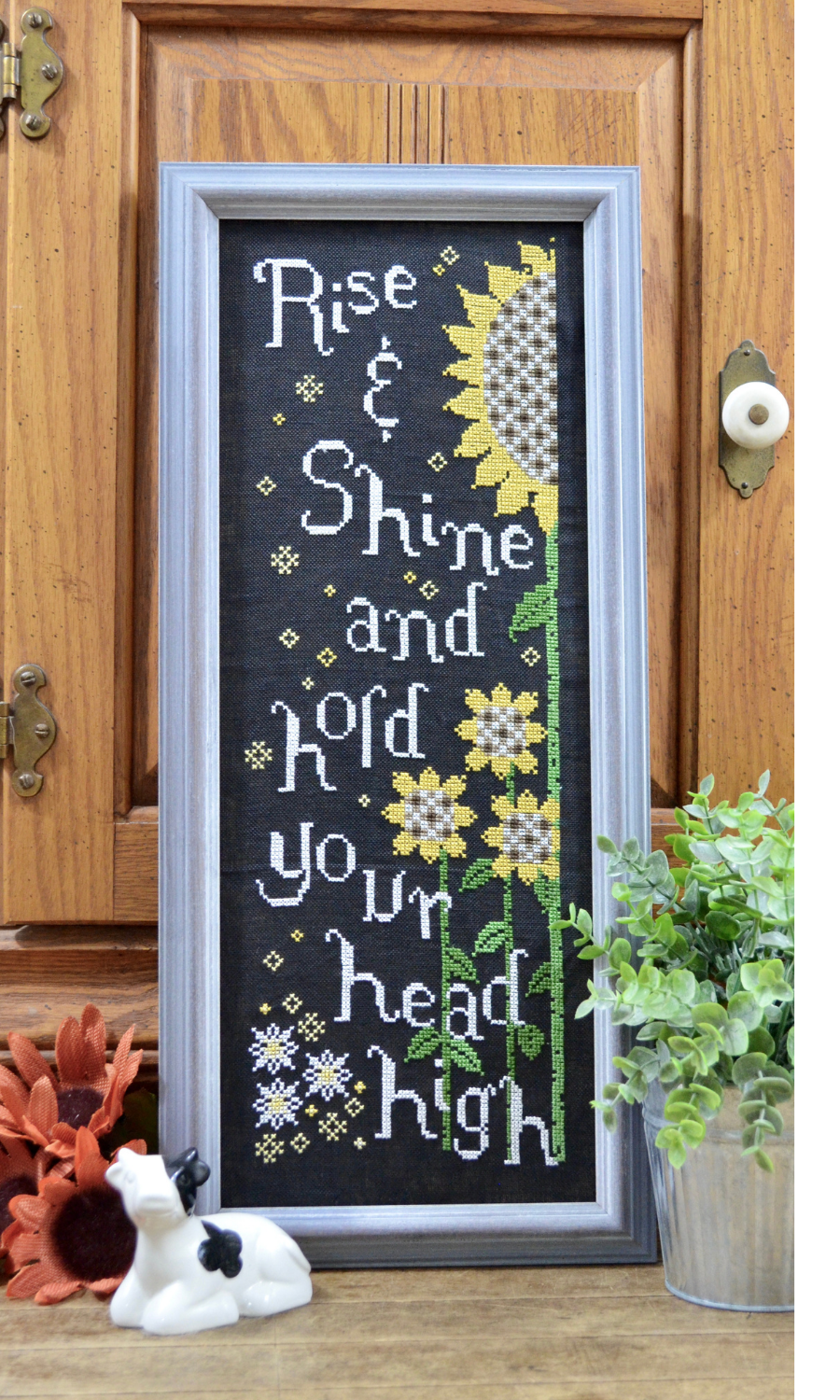 Advice From a Sunflower chart - Annie Beez