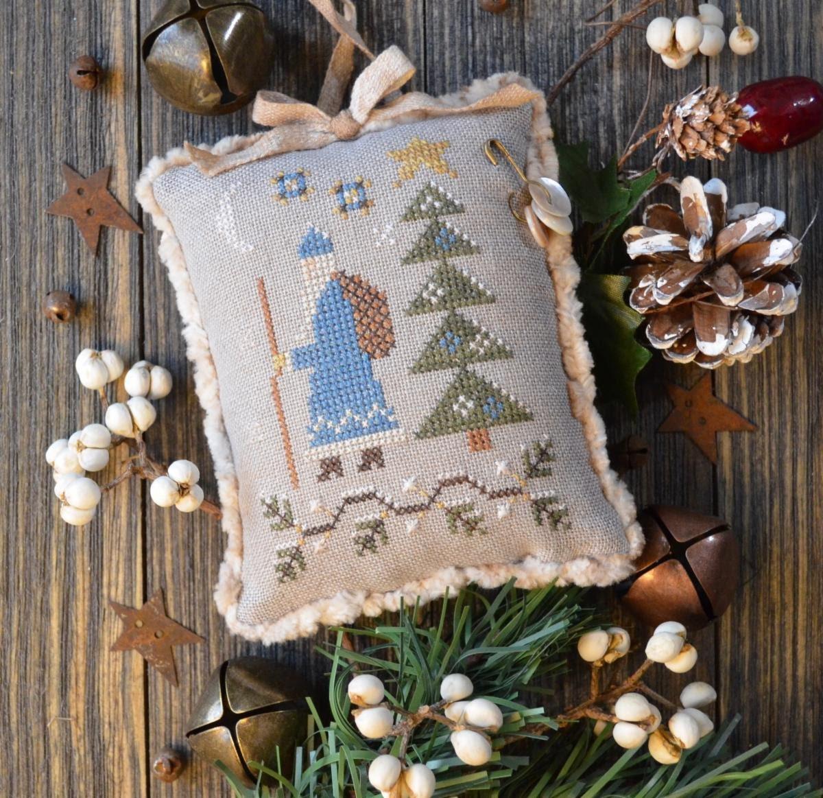 Tallow Berry Santa chart - Annie Beez