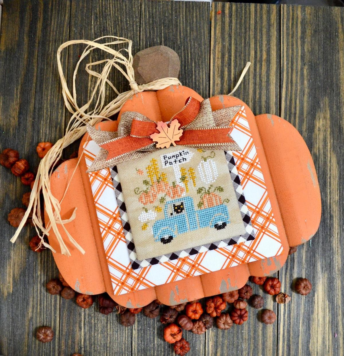 Pumpkin Pickin' chart - Annie Beez