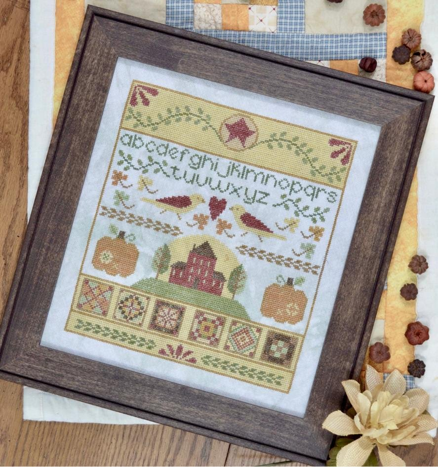 Pumpkin Folk chart - Annie Beez