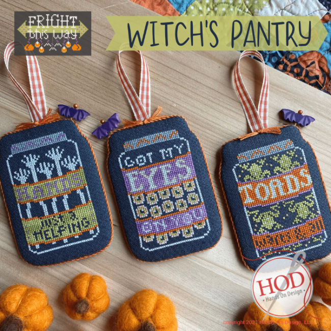 Witch's Pantry chart - Hands on Design
