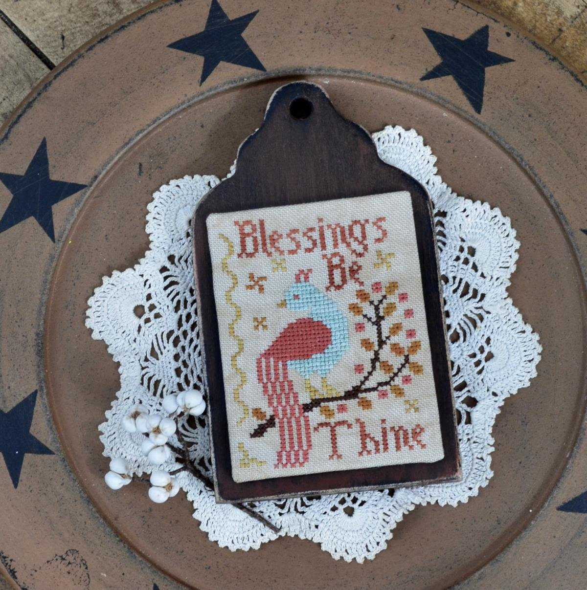 Blessings Be Thine chart - Annie Beez