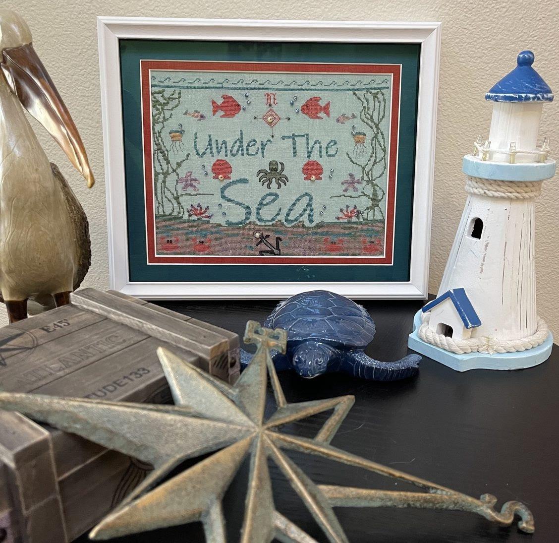 Under the Sea chart - Salty Stitcher Designs