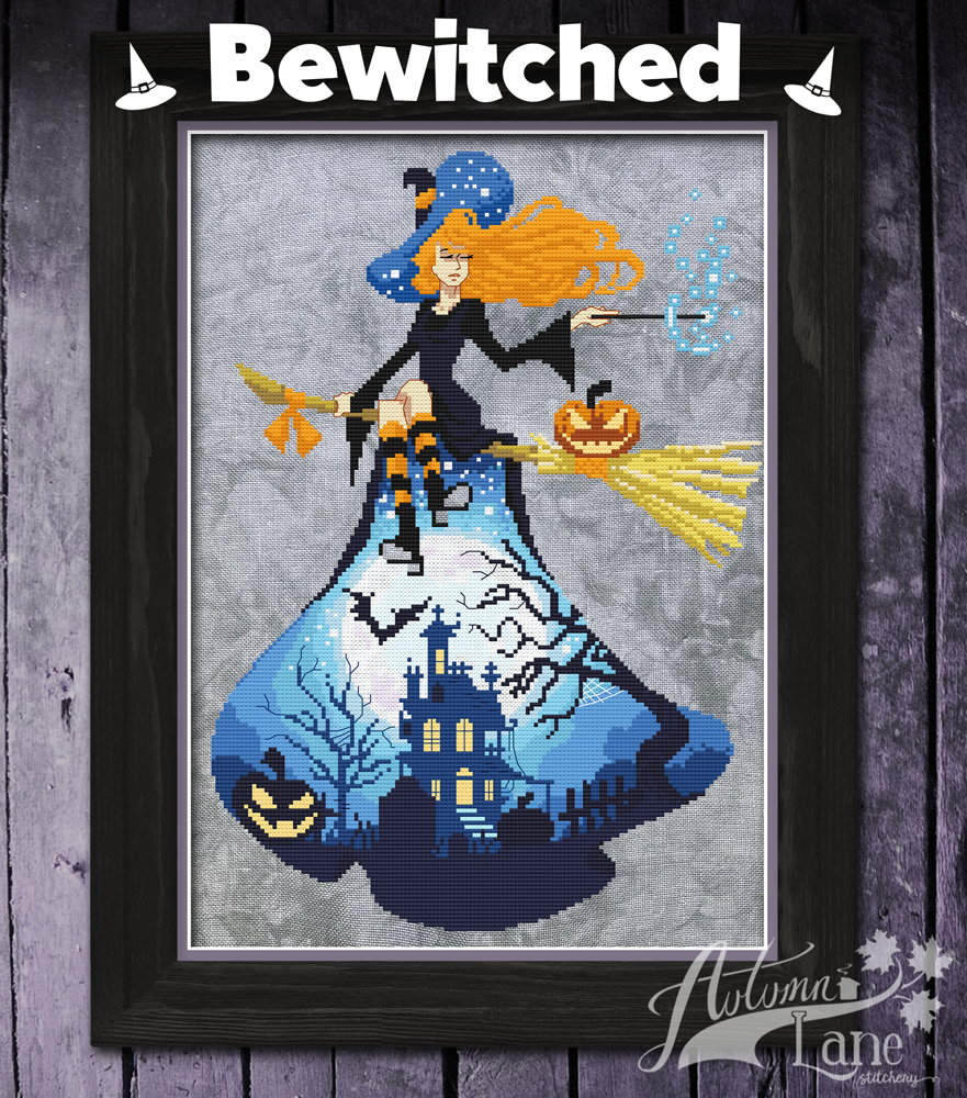 Bewitched chart - Autumn Lane