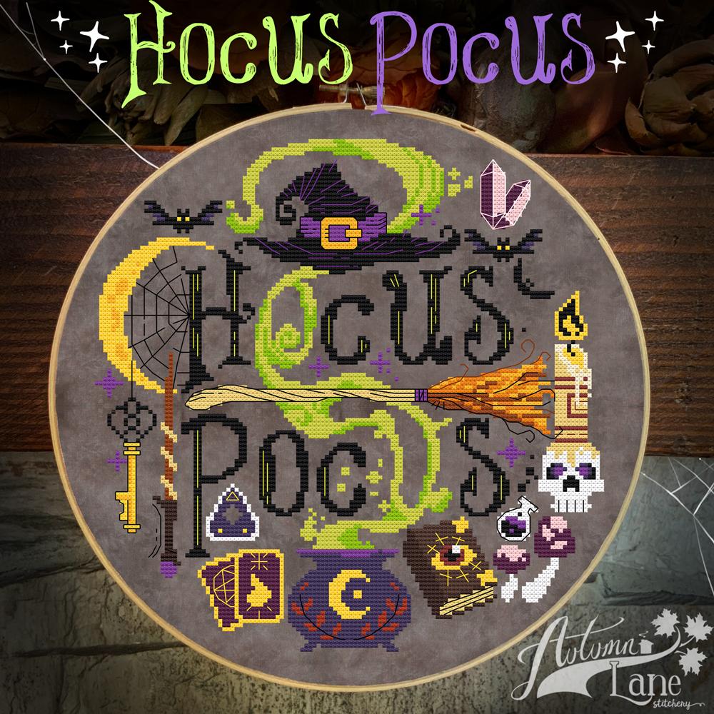 Hocus Pocus chart - Autumn Lane