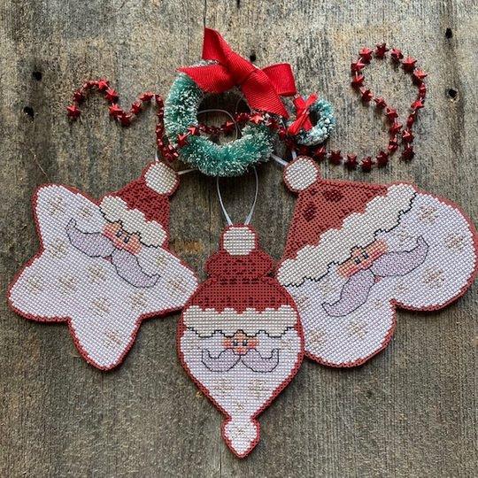 Starshine Santa chart - LuHu Stitches