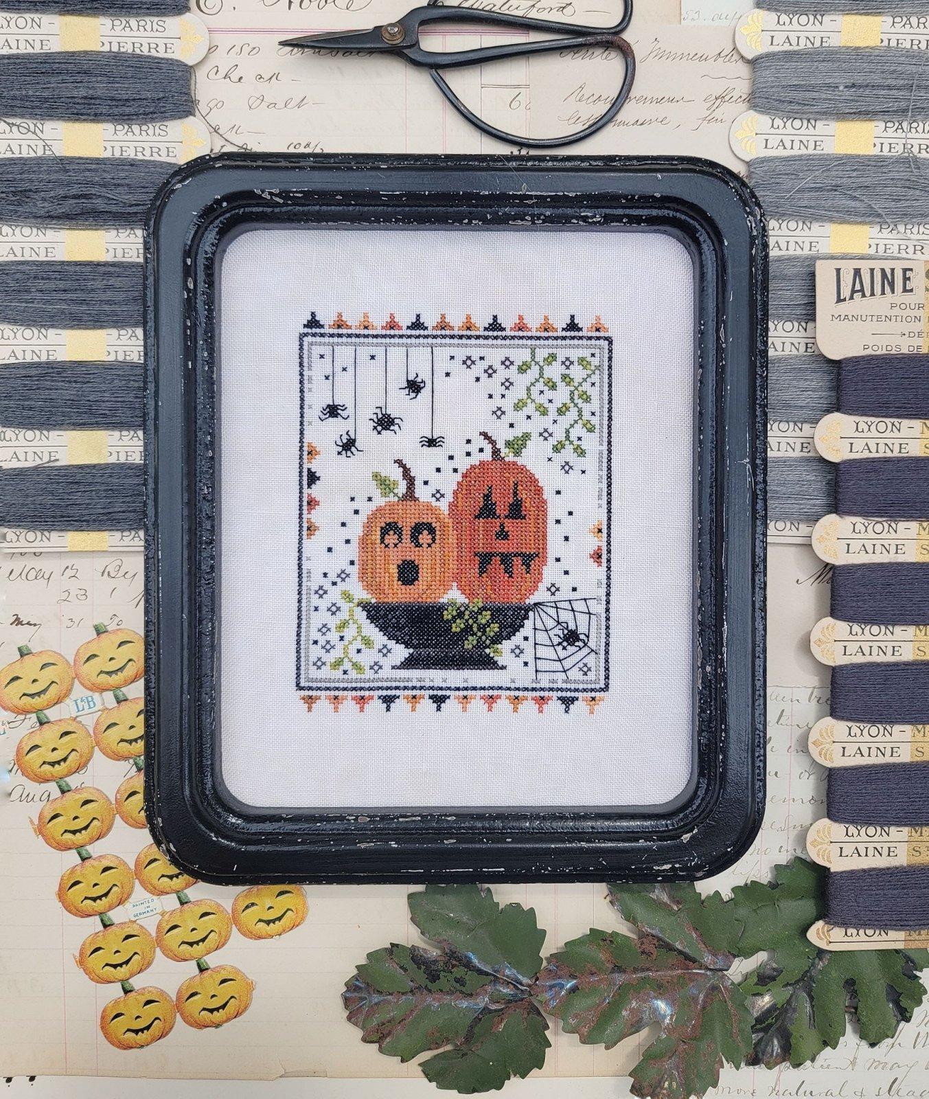 Two Pumpkins Bright chart - Hello from Liz Mathews