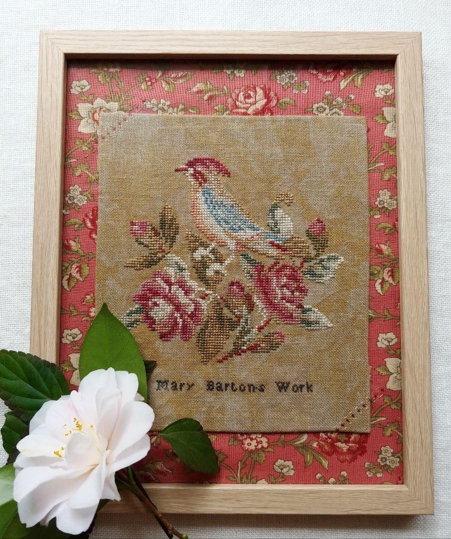 Mary Barton's Work chart - Mojo Stitches