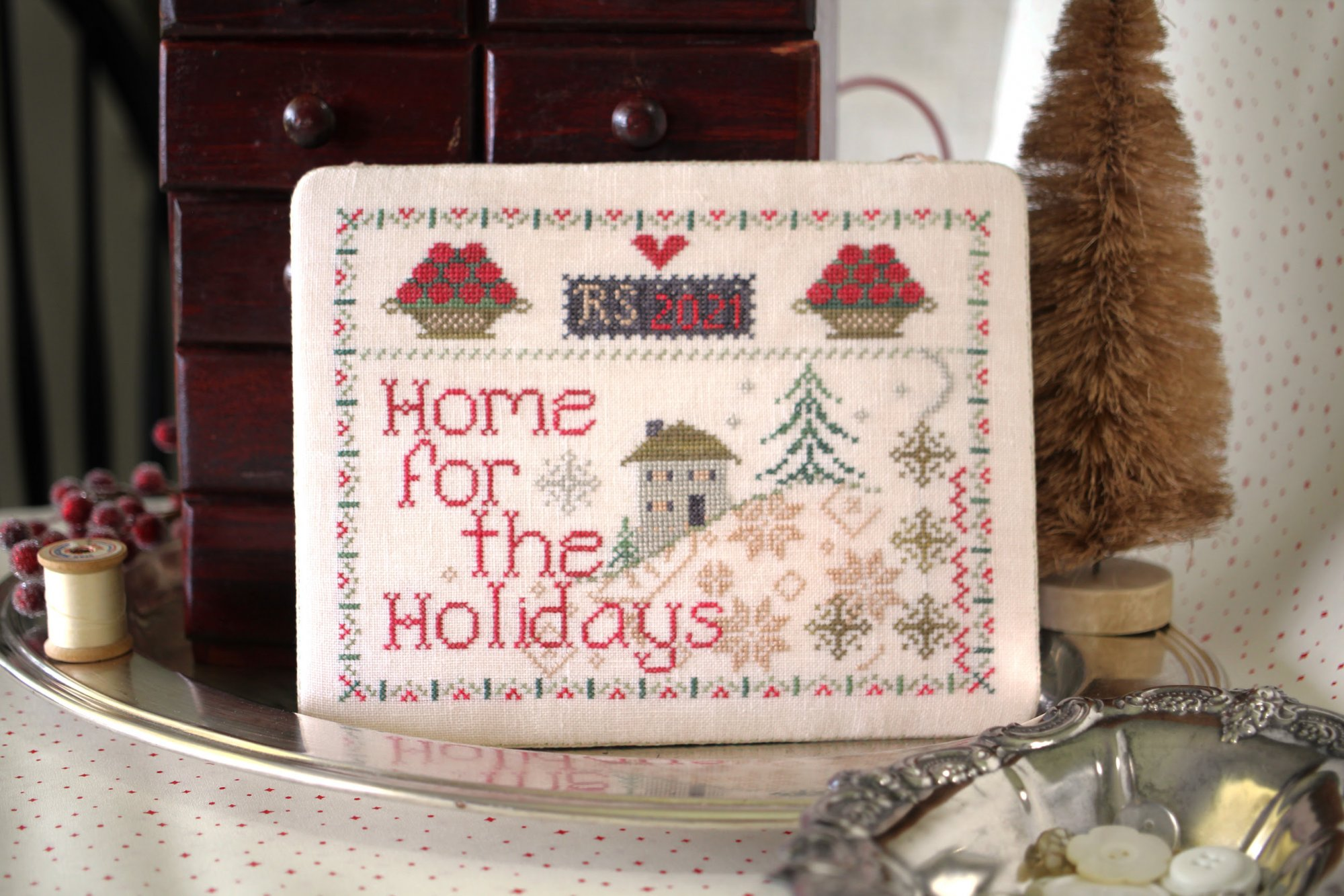 Home for the Holidays chart - October House