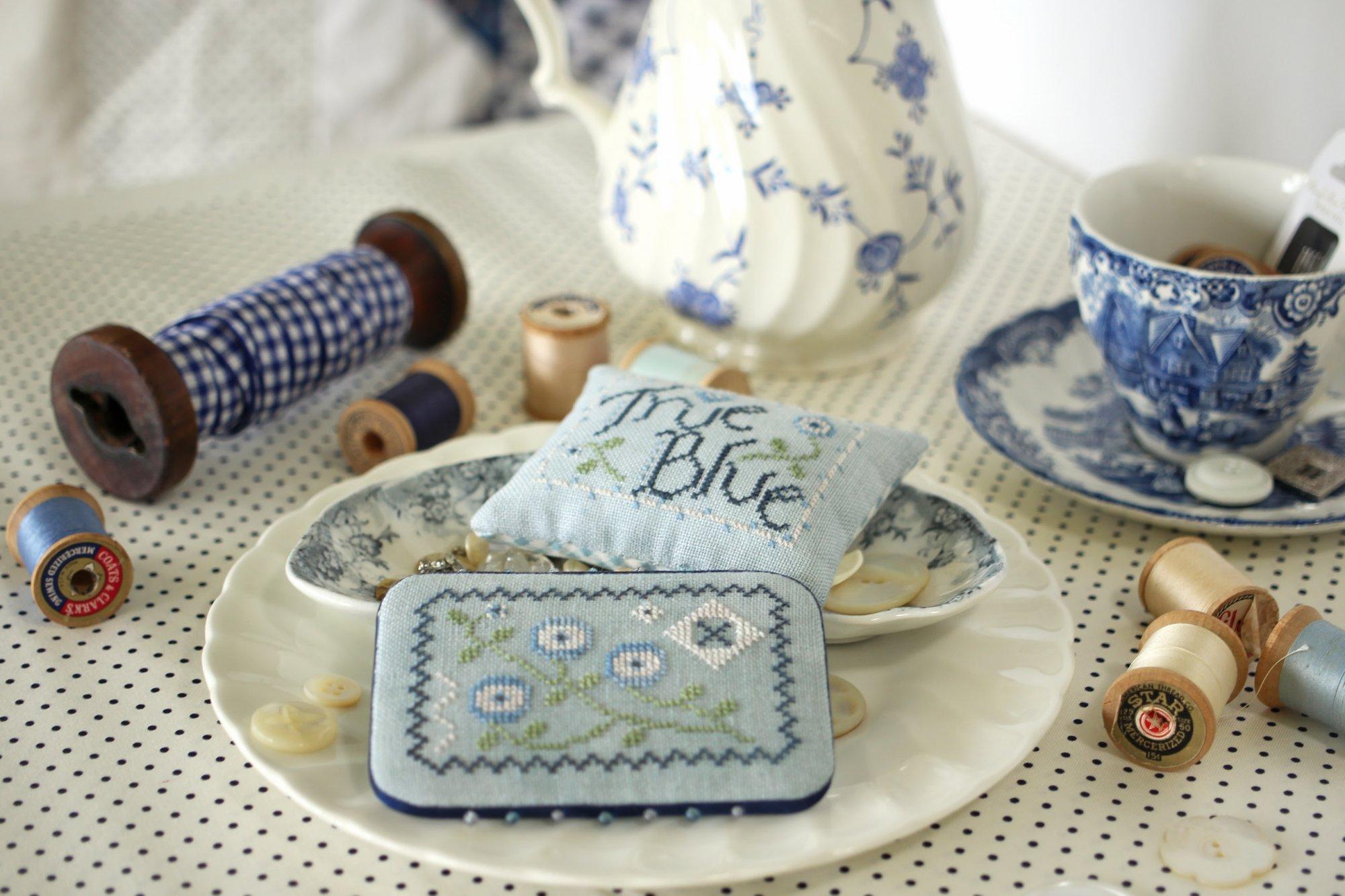 True Blue chart - October House