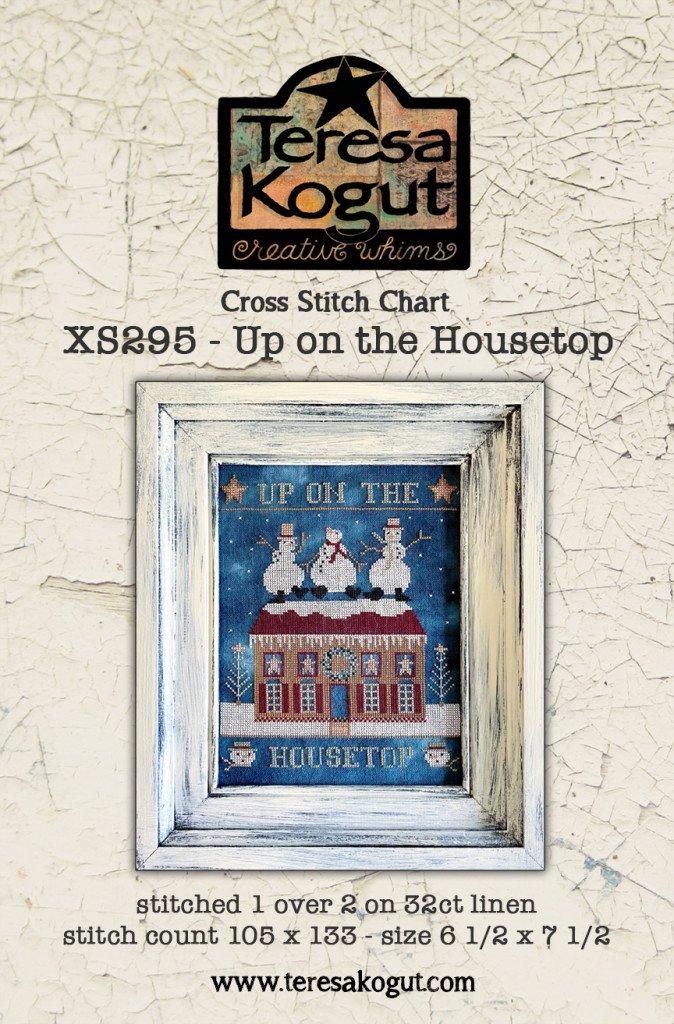 Up on the Housetop chart - Teresa Kogut