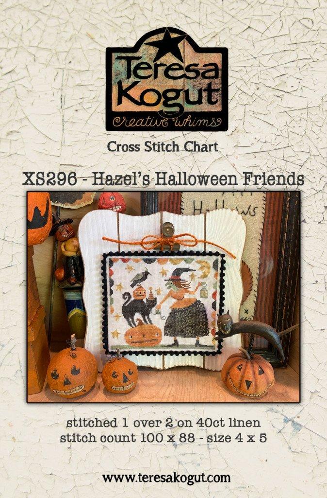 Hazel's Halloween Friends chart - Teresa Kogut