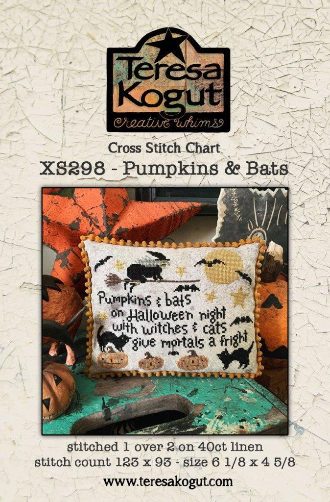 Pumpkins & Bats chart - Teresa Kogut