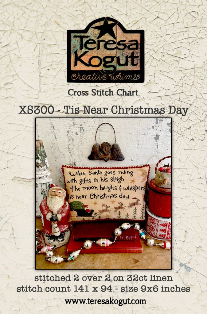 Tis Near Christmas Day chart - Teresa Kogut