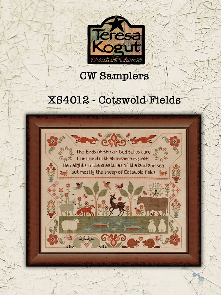 Cotswold Fields chart - Teresa Kogut