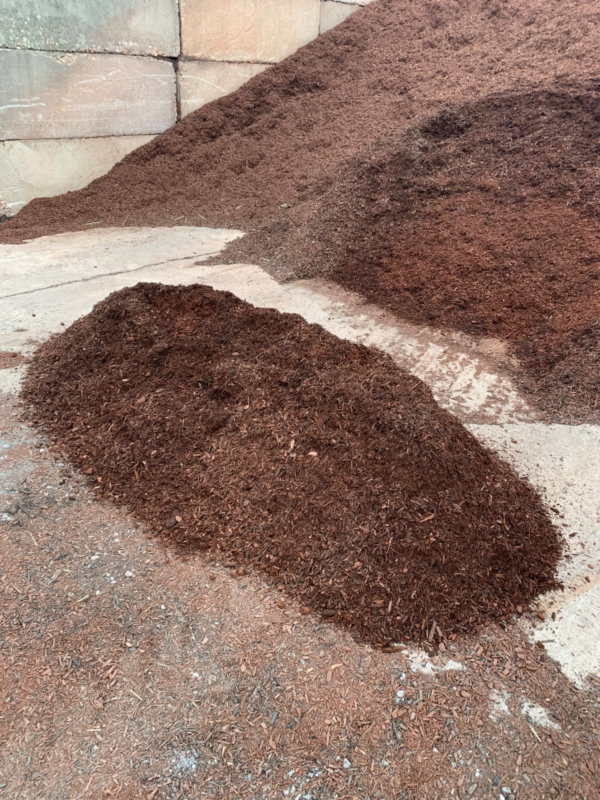 Mulch - Brown Dyed
