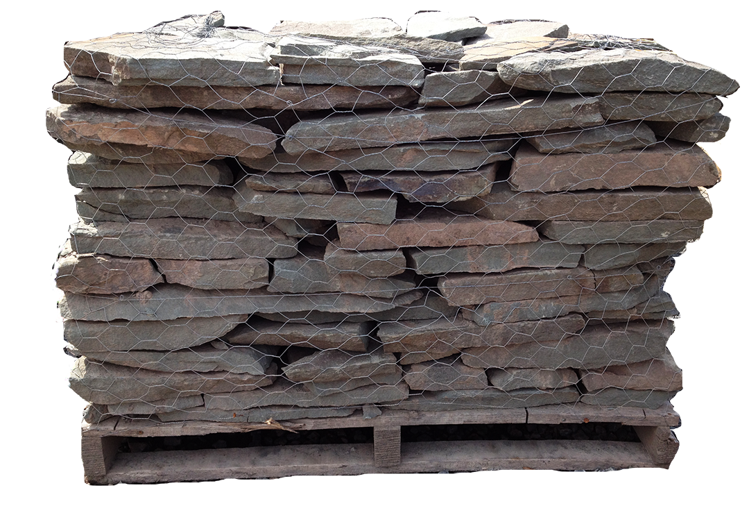 Colonial Dry Stack Wall Thin