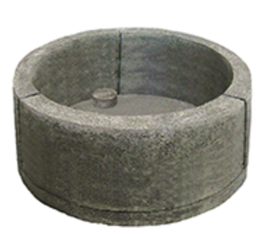 Firepit - Large Round Fire Pit Form