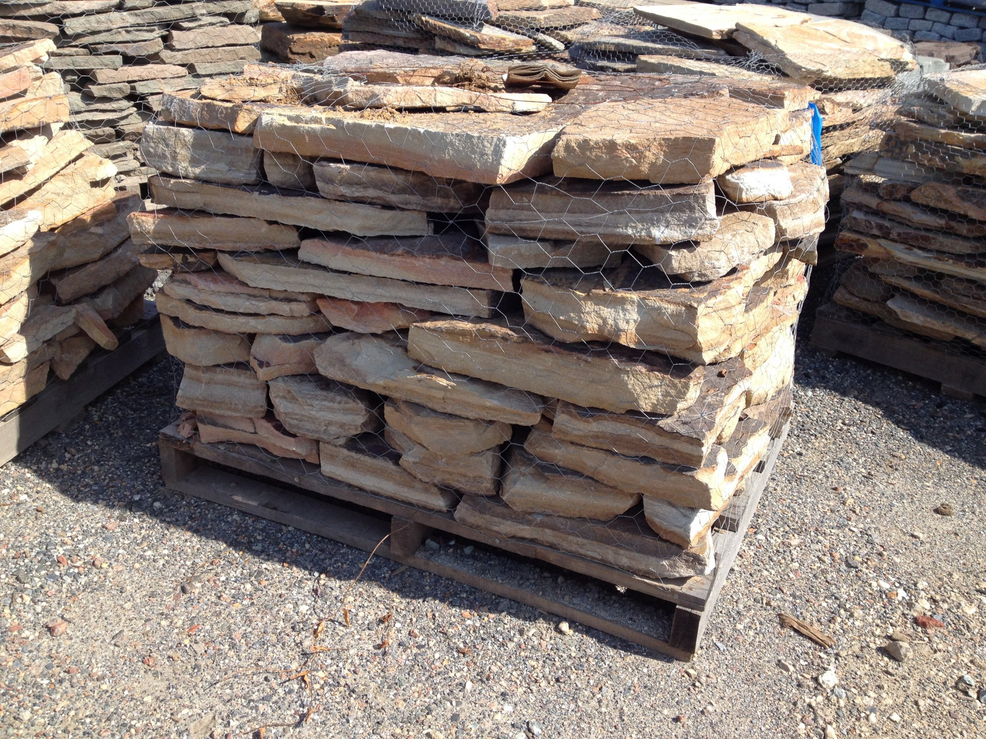 West Mountain Dry Stacked Wall