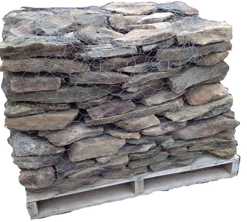 Pa Fieldstone Dry Stacked Wall