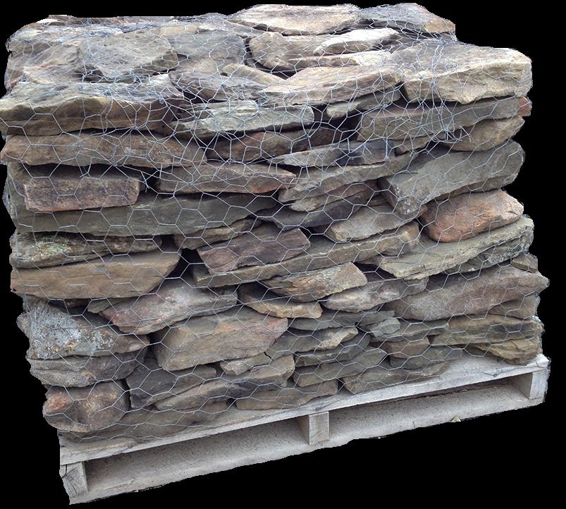 Pa Fieldstone Dry Stacked Wall