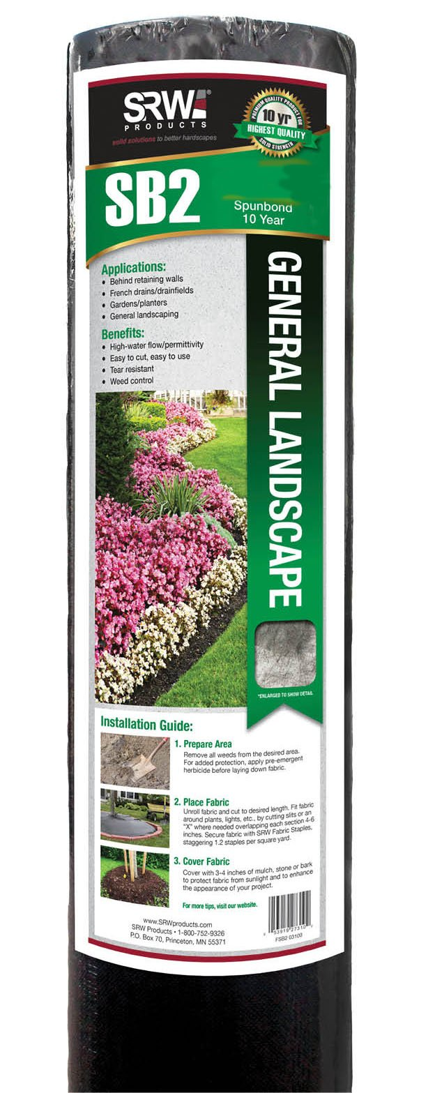 Weed Barrier - Landscape Fabric
