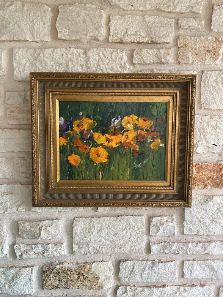 Poppy Play FA077 Oil Painting 12x16