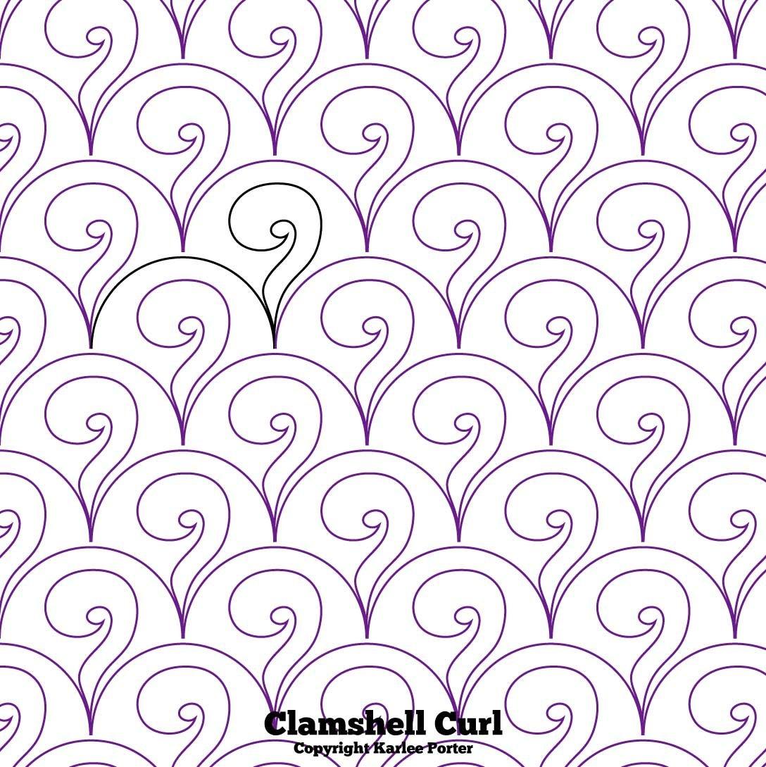 Clam Glam Curl