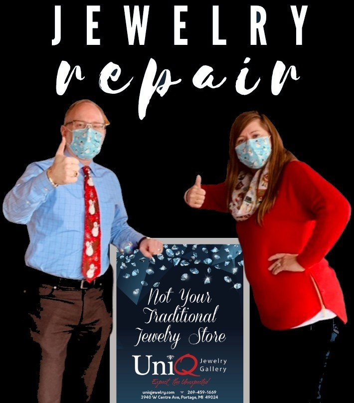 Jewelry repair in Portage, MI.