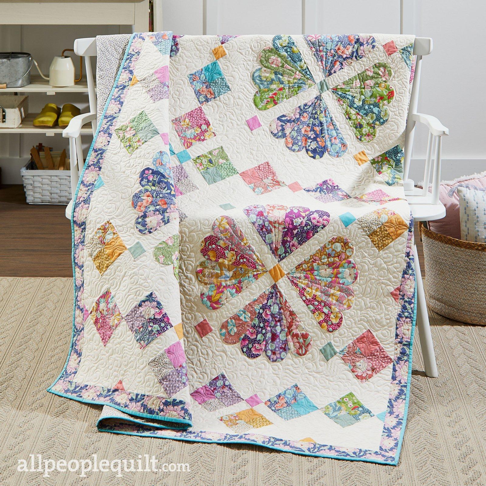 PRE-ORDER Floral Fancy Quilt Kit