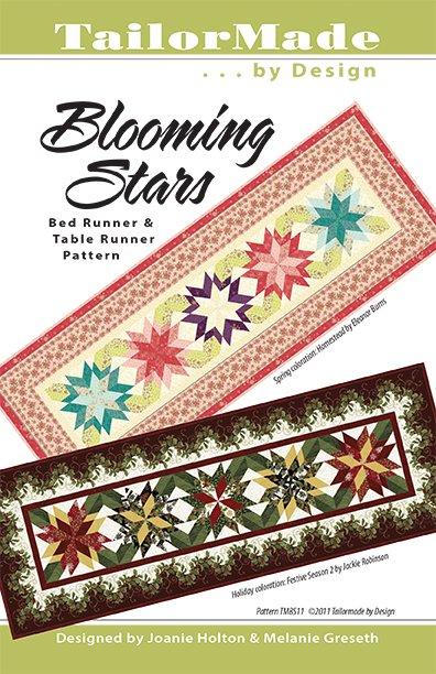 Blooming Star Bed runner~Christmas KIT