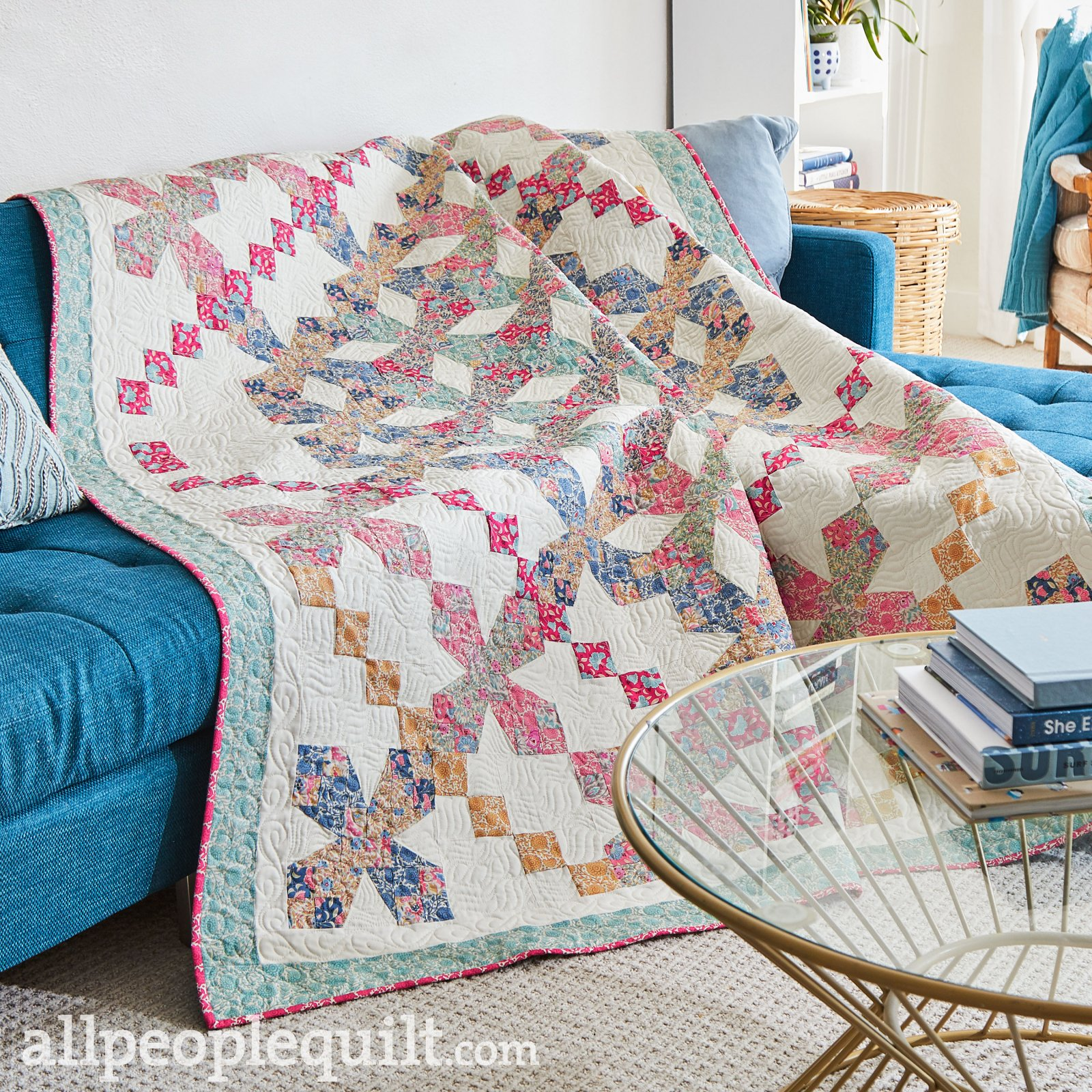 Criss Cross Tiles Quilt Kit