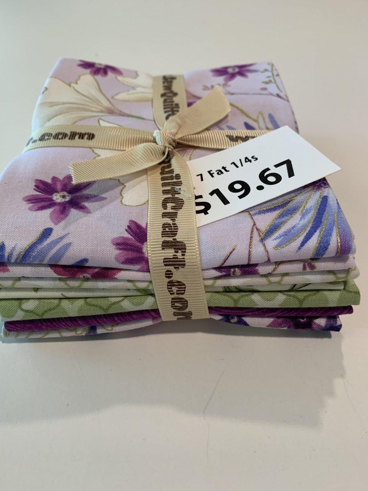 Enchanted Fat 1/4 Bundle - 7PK Lilac