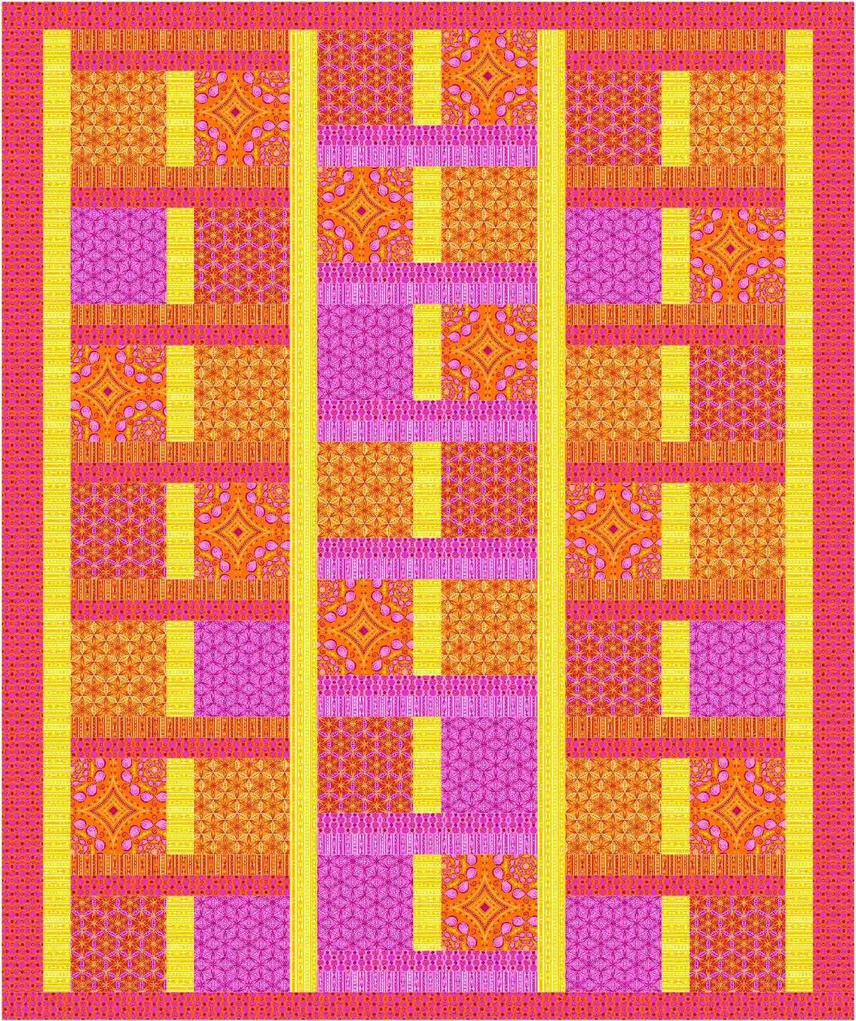 Simple Serendipity~Transformations Quilt