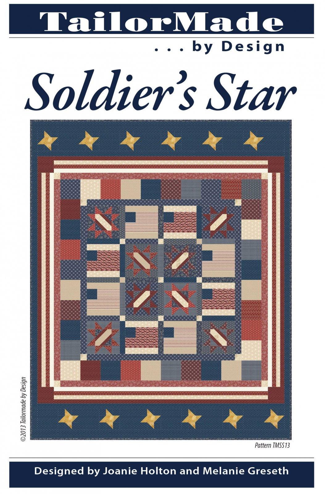 Soldier's Star pattern