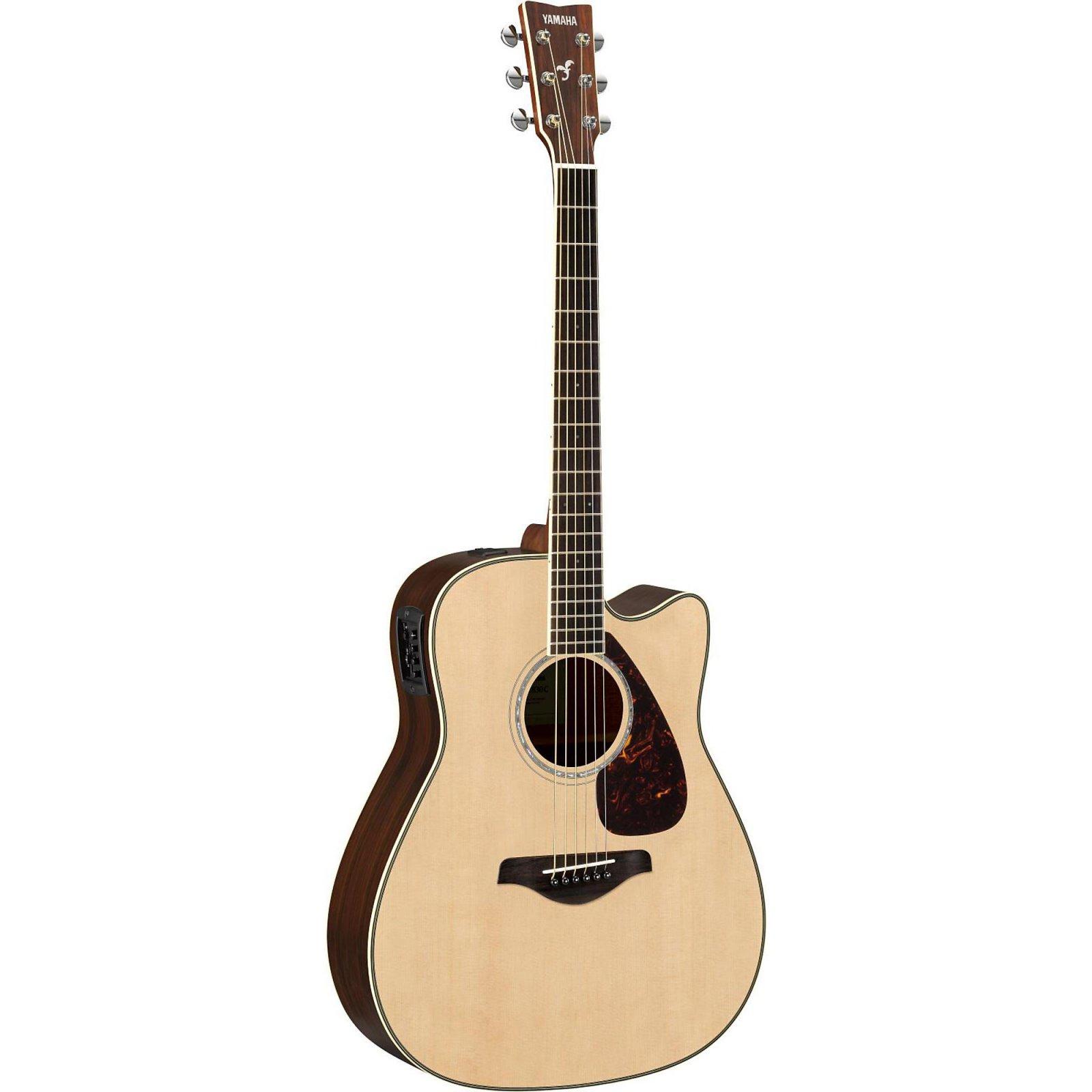 Yamaha FGX830C Acoustic/Electric Guitar-Natural